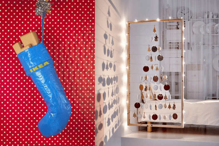 IKEA Christmas decoration ideas