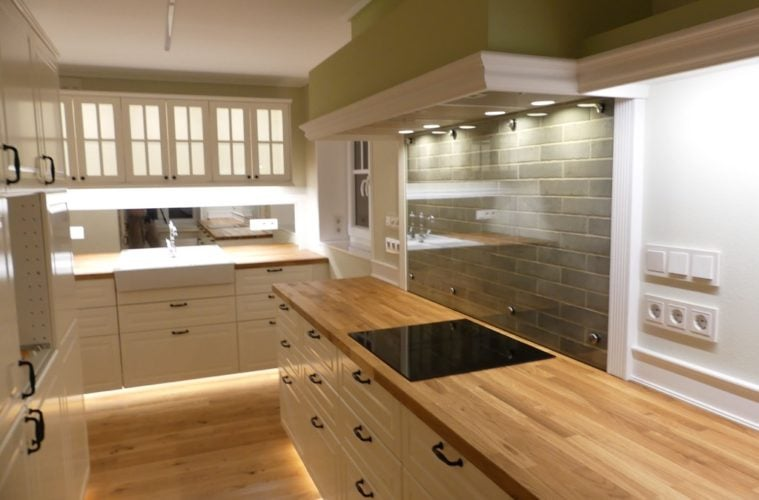Probably The Most Beautiful IKEA Farmhouse Kitchen