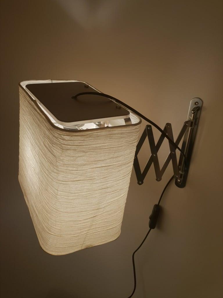 IKEA wall mounted reading light
