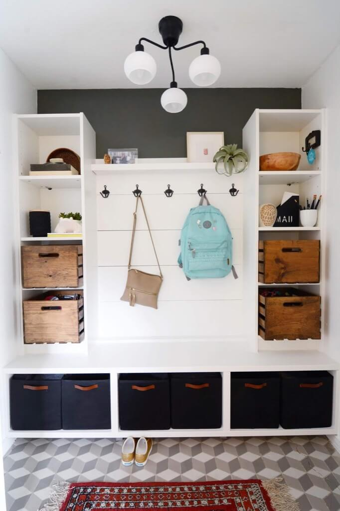 10 best IKEA hacks of 2018 - Jessica's mudroom