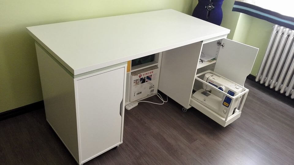 10 best IKEA hacks of 2018 - Cristina's smart sewing table