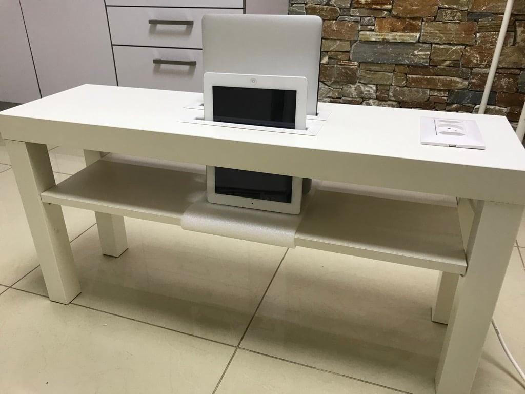 DIY multi-device charging station - IKEA hack