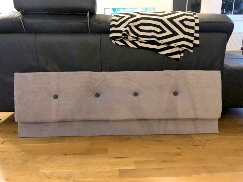 Tufted headboard for IKEA FJELLSE bed