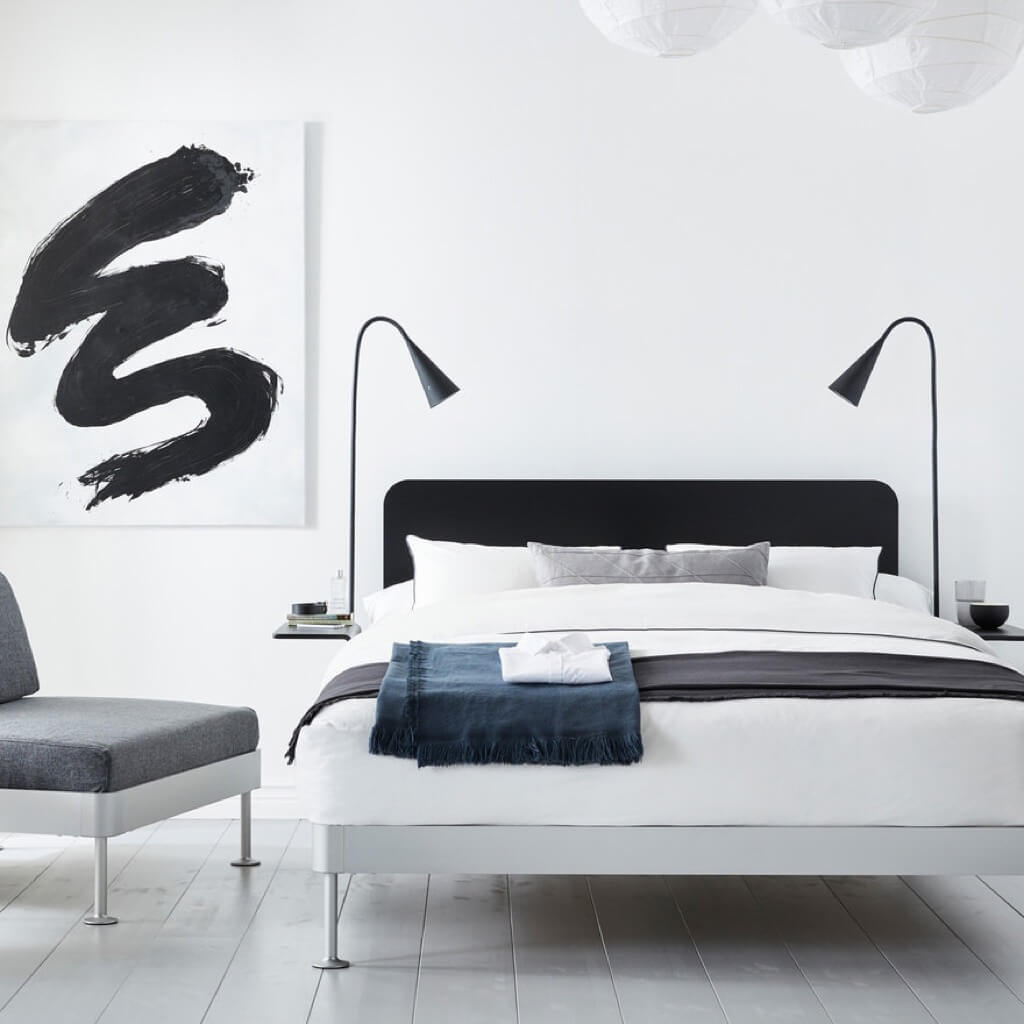 IKEA x Tom Dixon's announces the IKEA DELAKTIG bed
