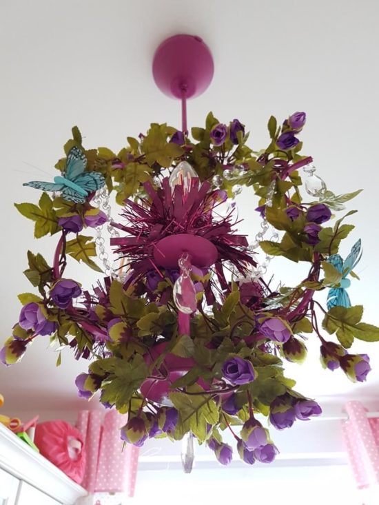 Flower Chandelier For Kid's Playroom