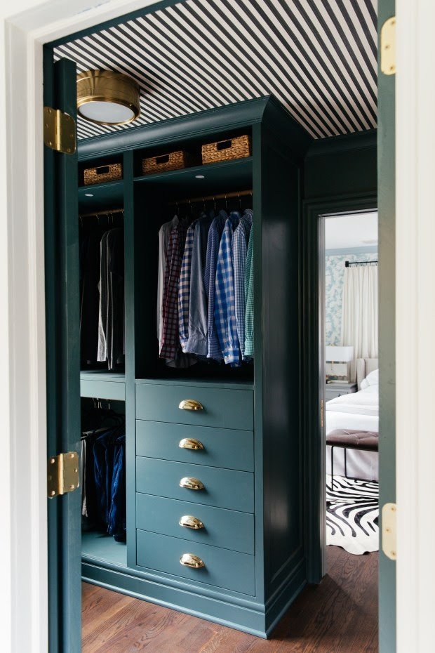 IKEA PAX hack: Hands down the most stunning walk-in closet