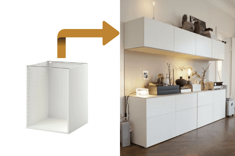 outstanding ikea kitchen wall storage | Hackers Help: Can I wall mount IKEA kitchen base cabinets?