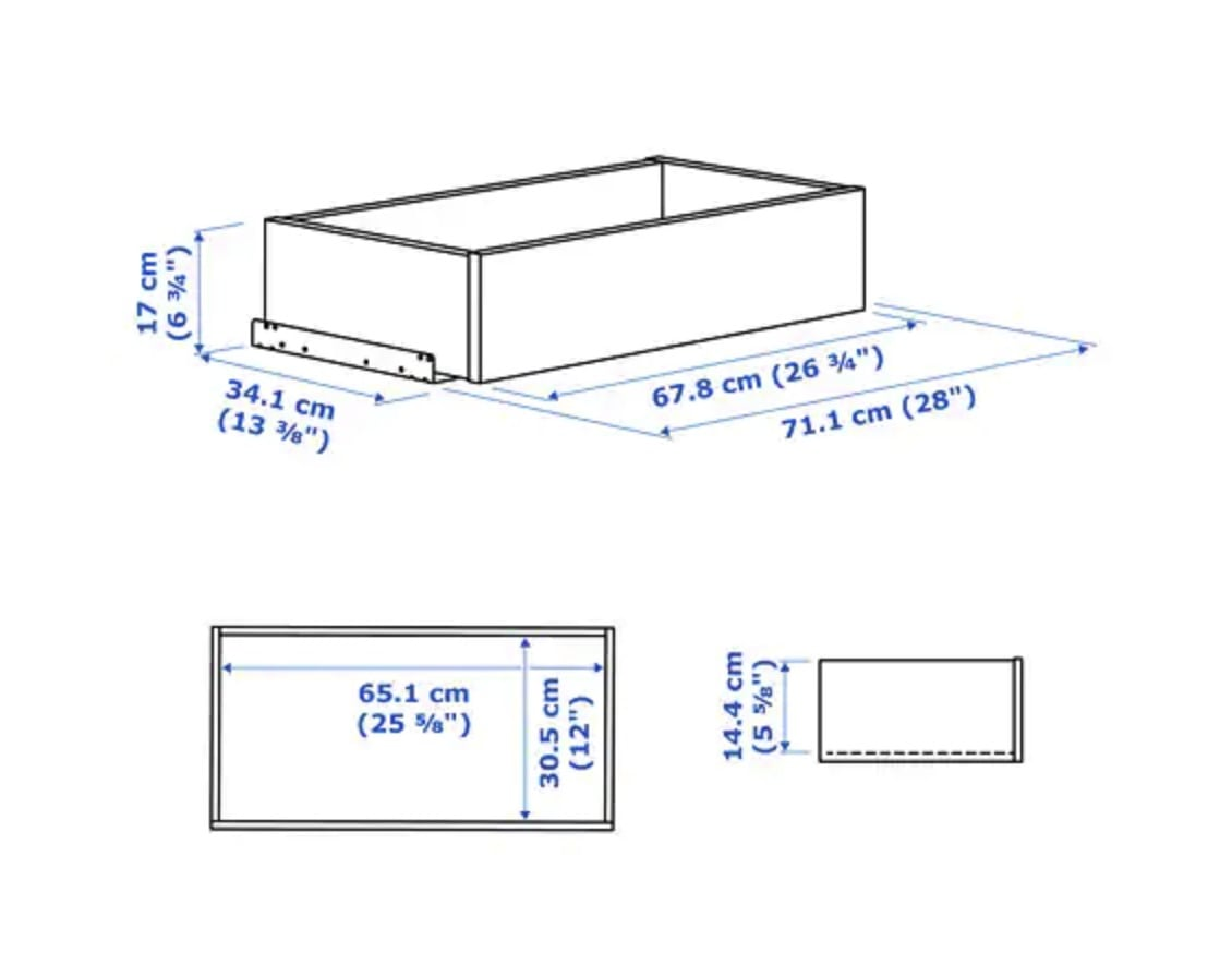 , Hackers Help: Need help adding drawers to BRIMNES cabinet