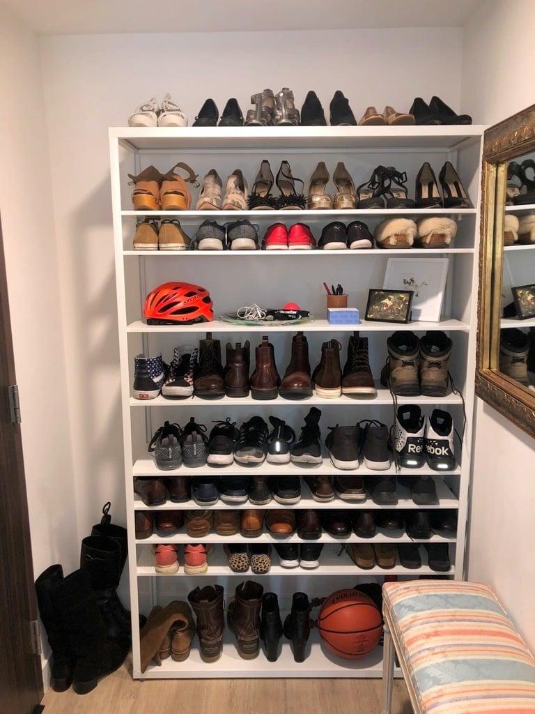 IKEA Shoe Shelf for Big Feet and Big Collection