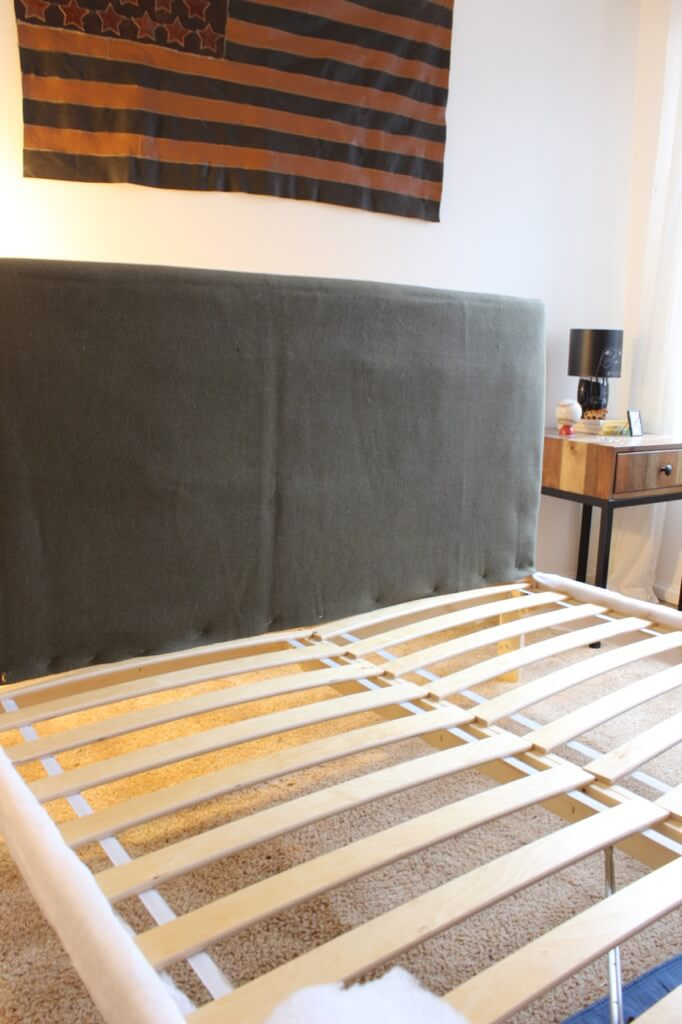 Upholstered Bed Frame on a Budget