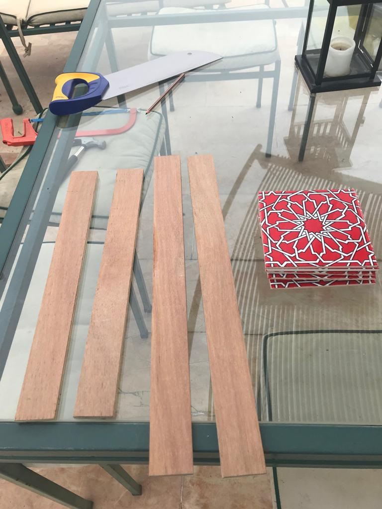 The Easy Way To Make A Ceramic Tile Coffee Table Ikea Hackers