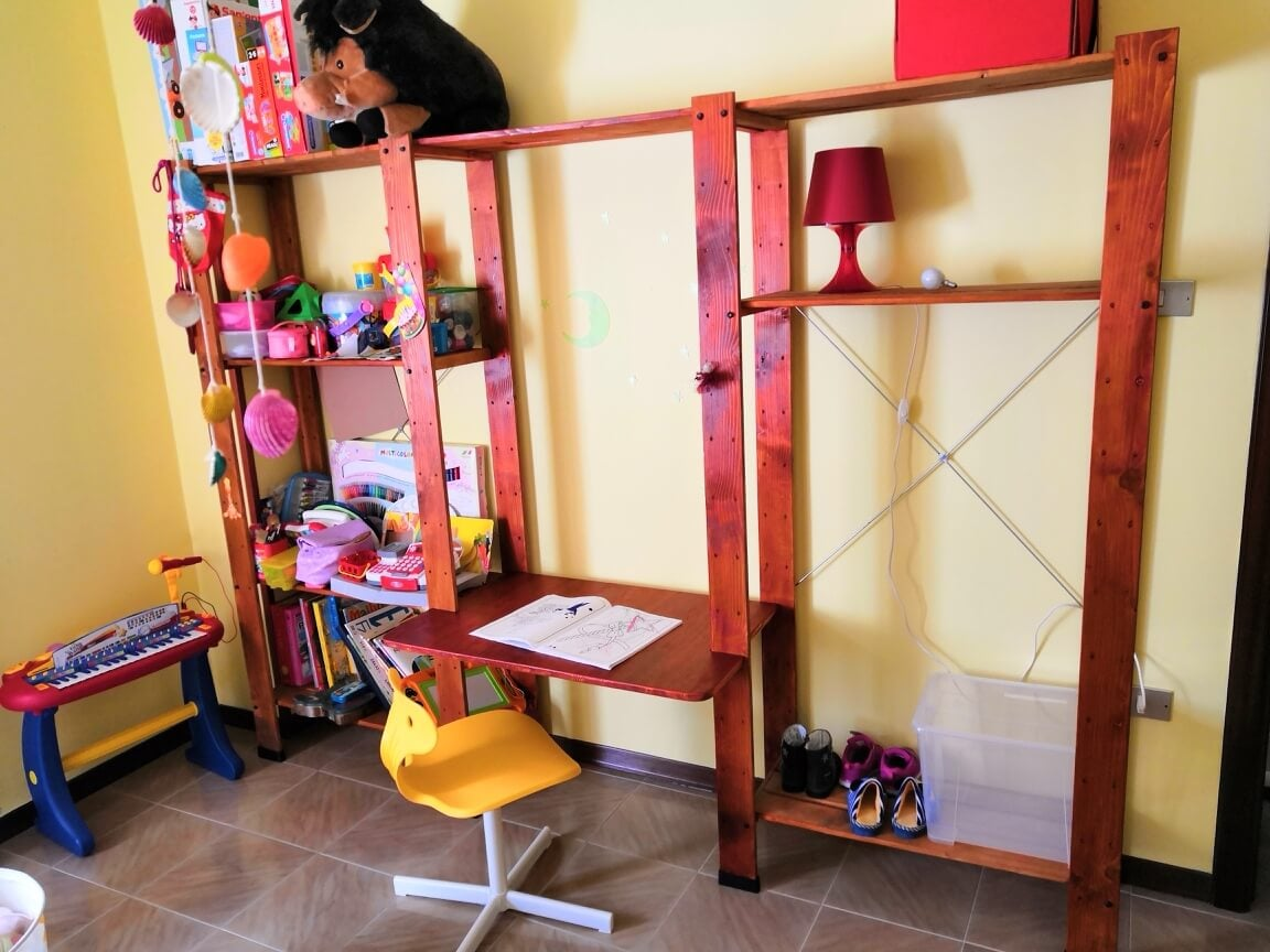 Height adjustable kid's desk: A desk that grows with you