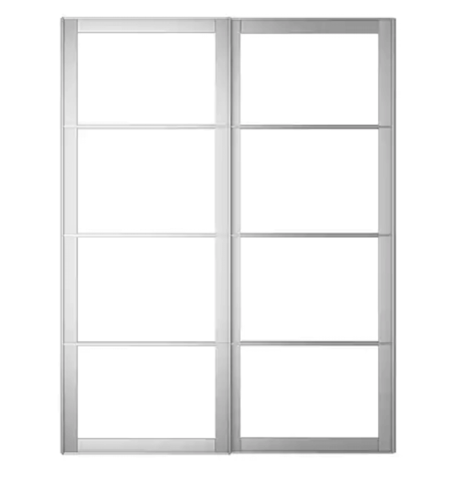 ikea sliding door frame