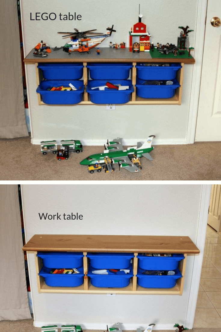 #2 Dual Personalities Table And Storage