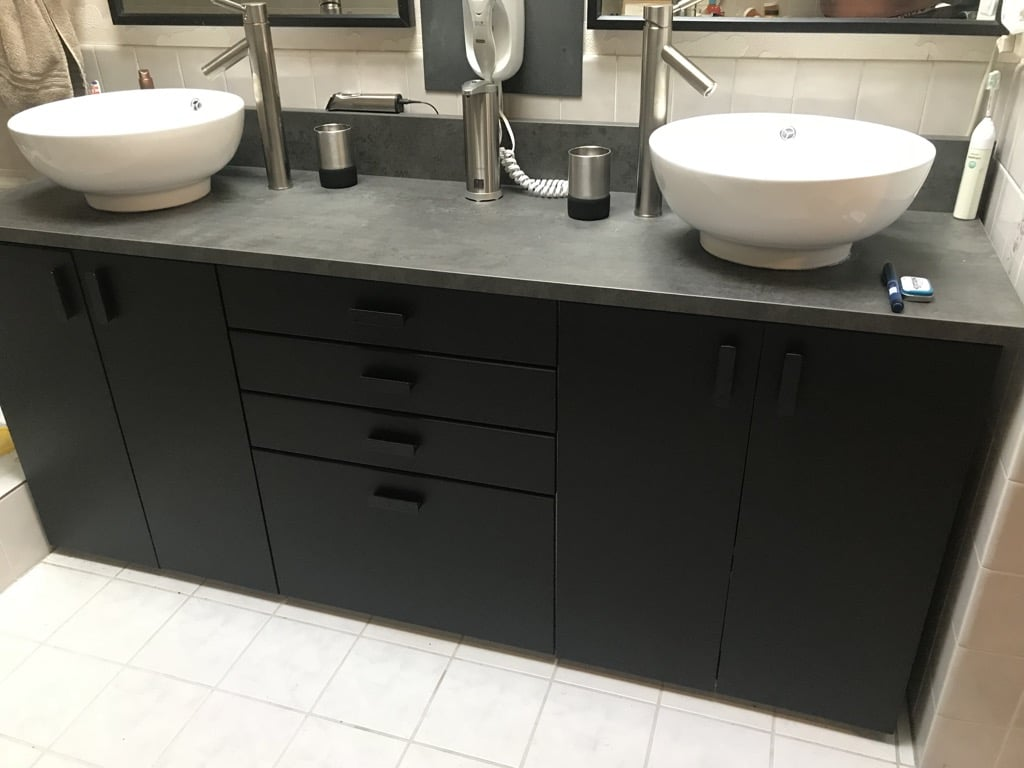 IKEA SEKTION bathroom vanity