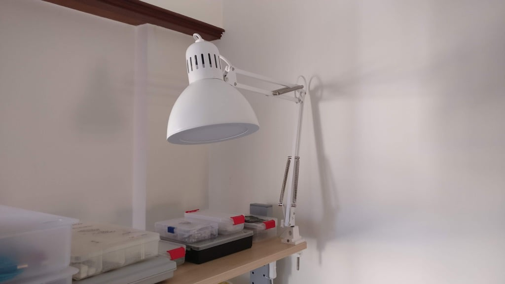 Make a budget friendly LED TERTIAL work lamp