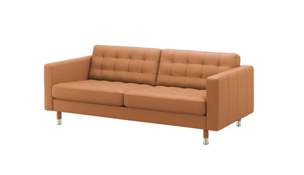 IKEA Landskrona leather sofa
