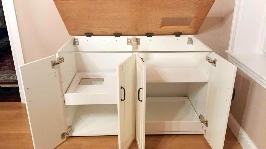 cat litter box furniture IKEA hack DIY