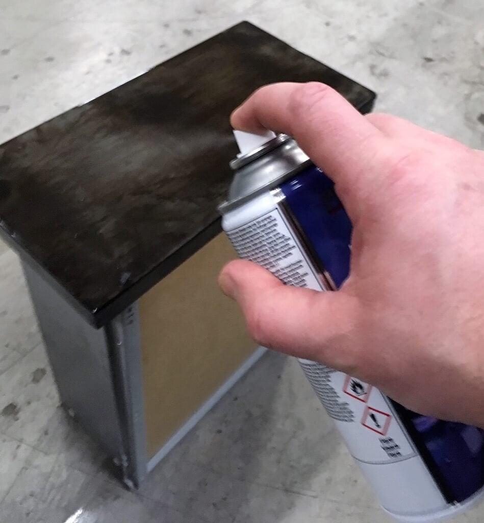 vintage metal cabinet IKEA Hack