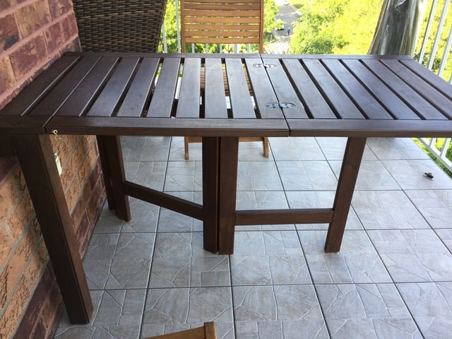 folding table applaro