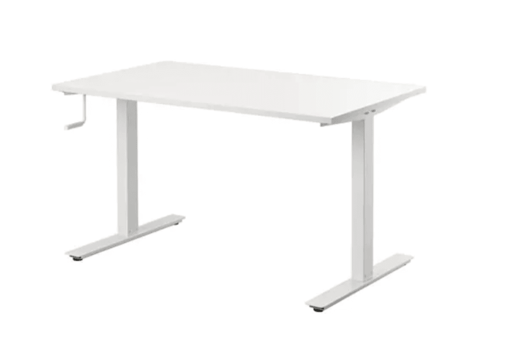 Hackers Help: Pair BEKANT desk with SKARSTA frame""