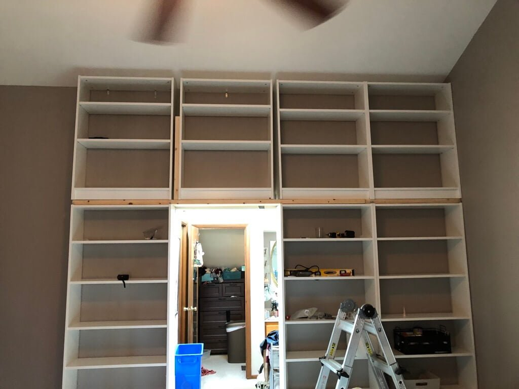 Floor to Ceiling Bookshelves, it's larger than life