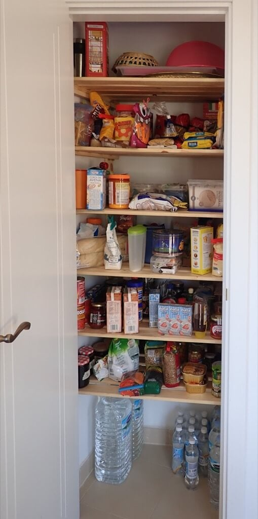 Odd Shaped Pantry Shelving Hejne To The Rescue Ikea Hackers