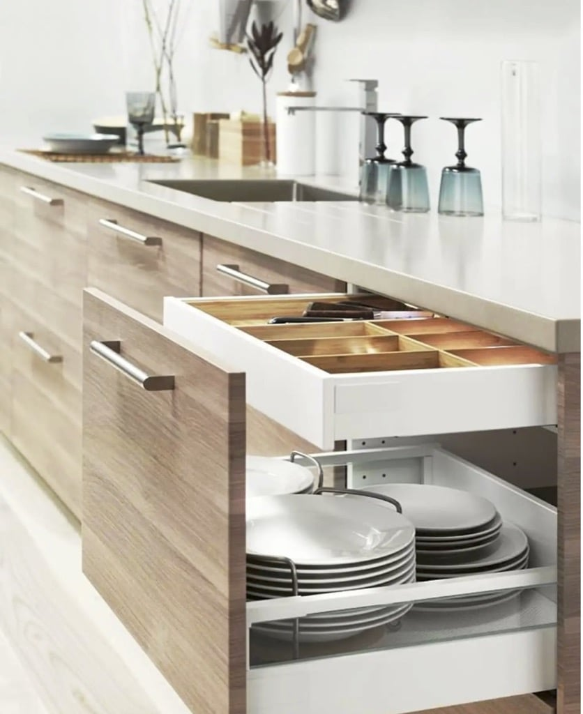 Drawer latch for IKEA Maximera internal drawers