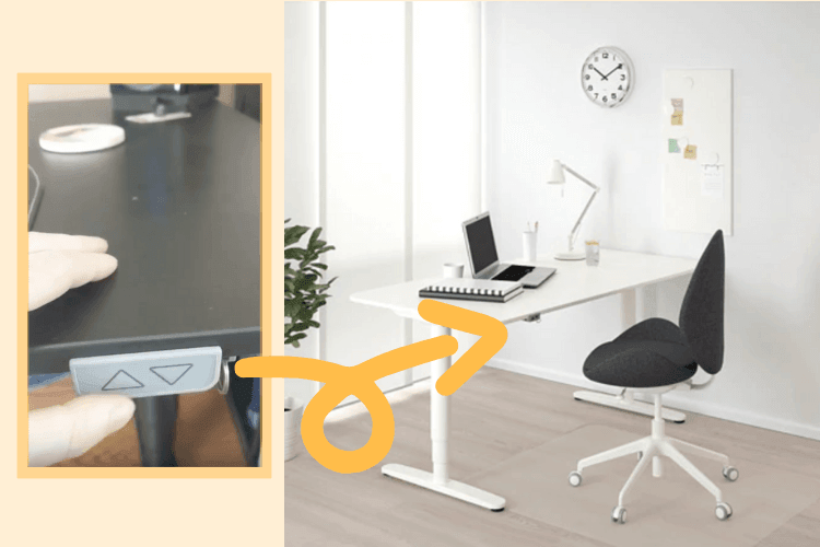 Making an IKEA sit stand desk that remembers - IKEA Hackers