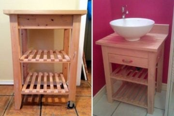 washstand basin ikea bekvam hack