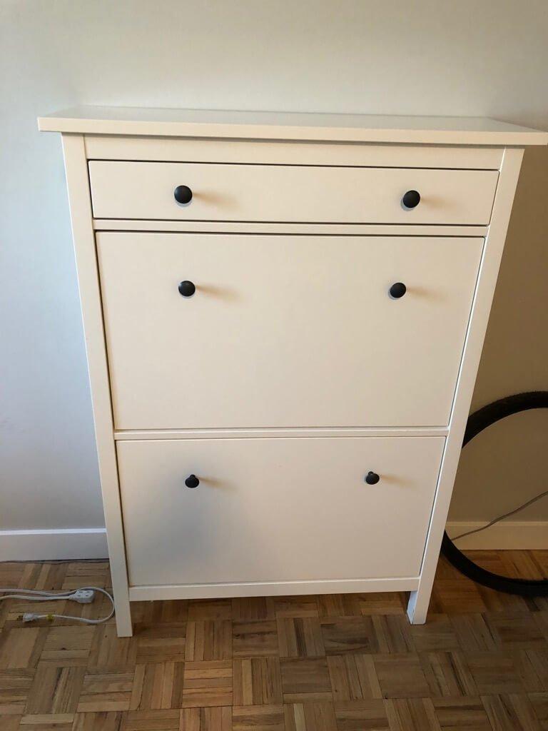 IKEA HEMNES shoe cabinet