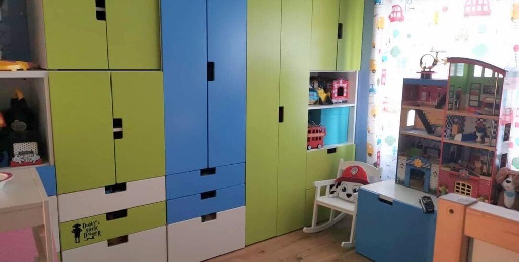 ikea kids room idea - stuva
