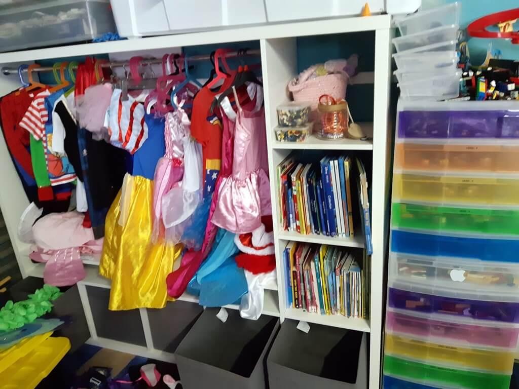 ikea kids room idea - expedit