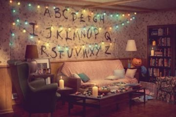 stranger things living room ikea