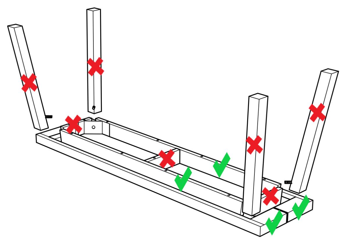 IKEA SKOGSTA bench