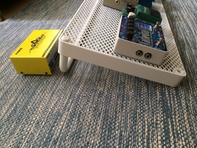 make your own fantastic pedalboard from IKEA