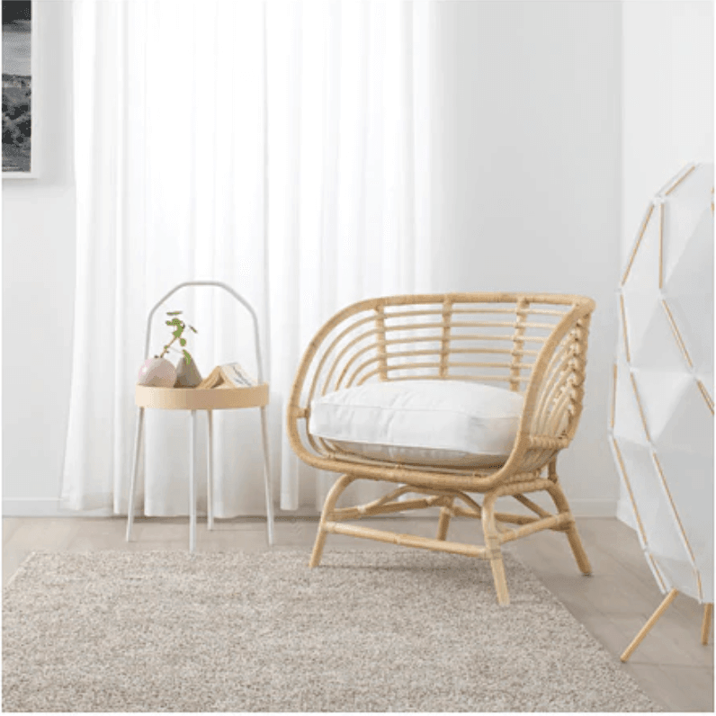 BUSKBO ARMCHAIR + DJUPVIK cushion  IKEA Catalog 2020 and 20 best new things to look out for
