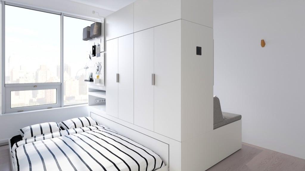 IKEA ROGNAN robotic furniture in collab with Ori
