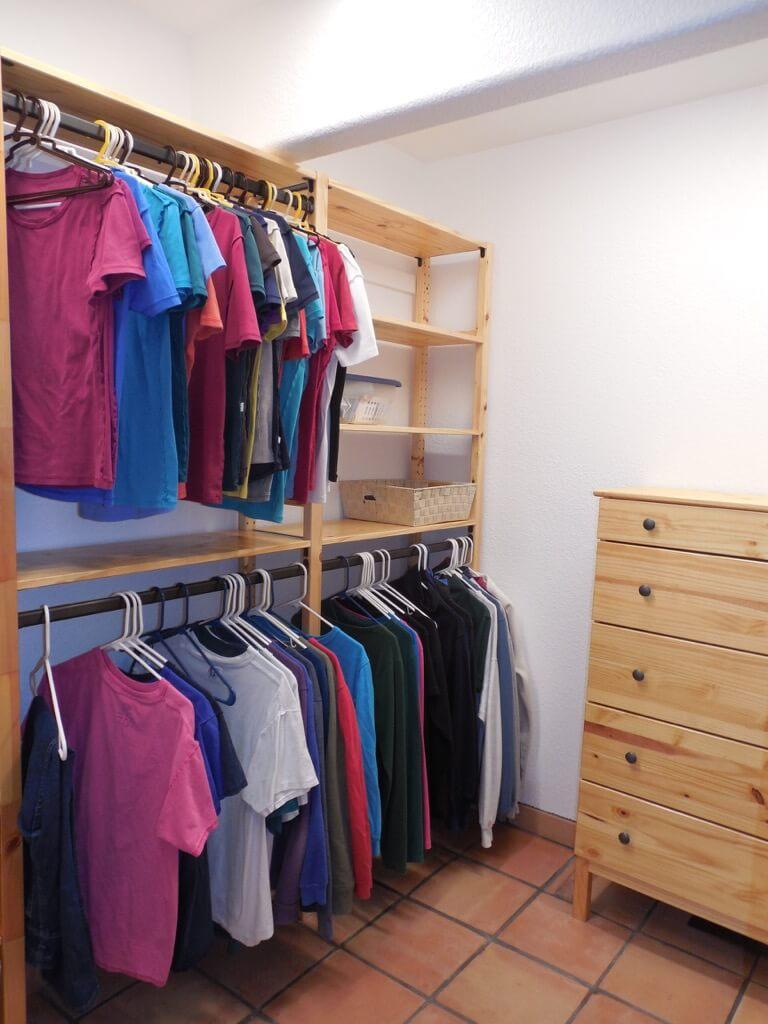 Ivar open closet