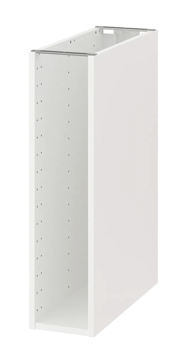 IKEA METOD base cabinet to fill gap between kitchen cabinet and wall