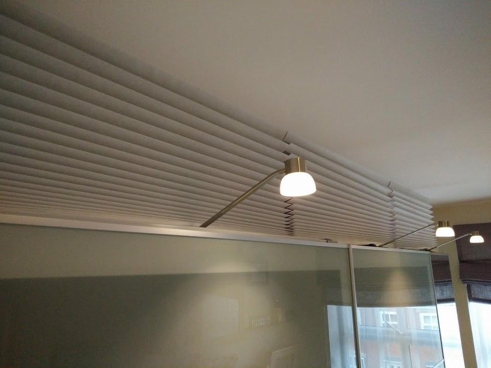 IKEA SCHOTTIS blinds as wardrobe cover