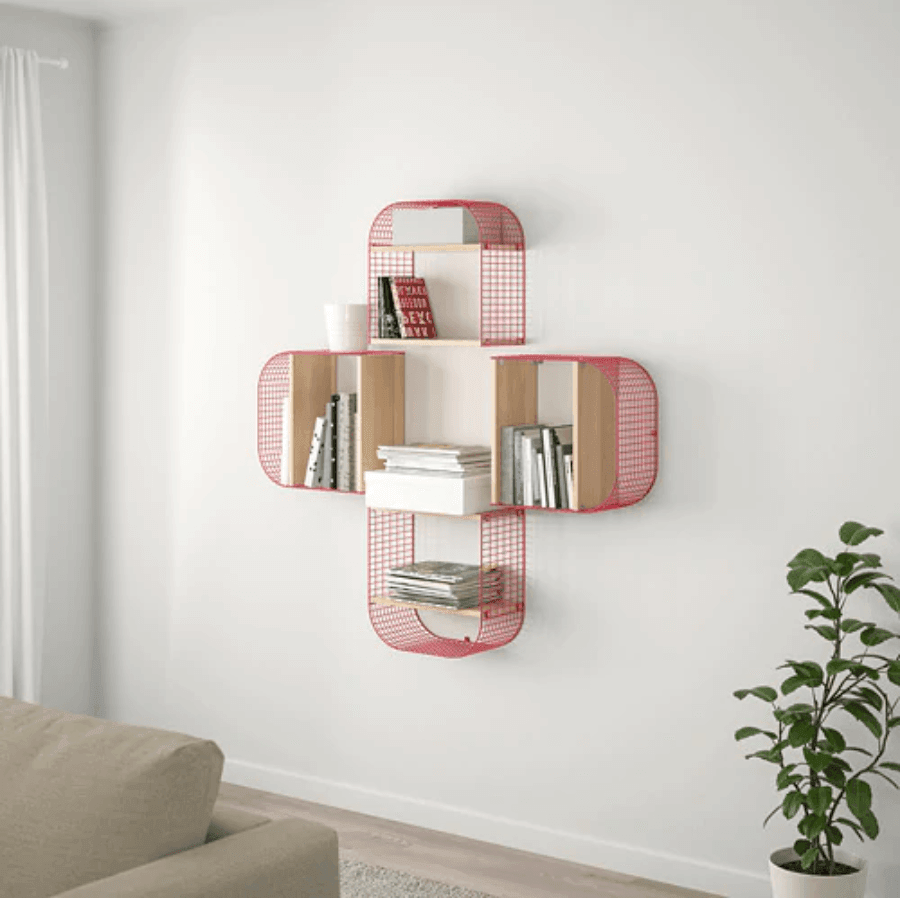 SVENSHULT Wall shelf with storage, IKEA Catalog 2020