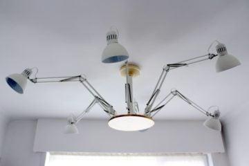 ceiling lights adjustable work lamp