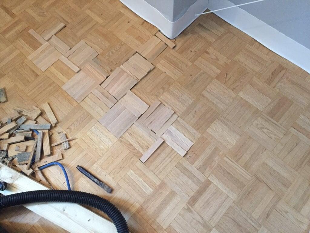 parquet flooring repair