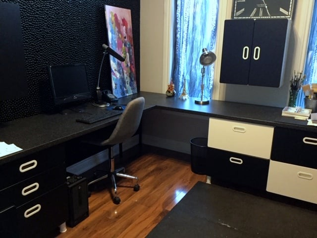 Home office setup - IKEA STUVA