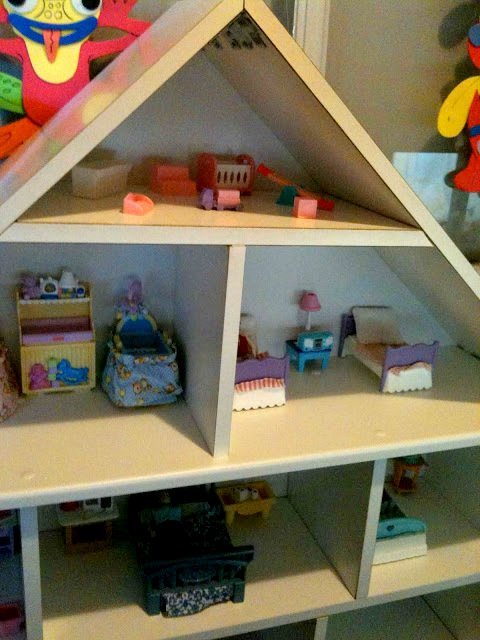 BILLY bookcase dollhouse