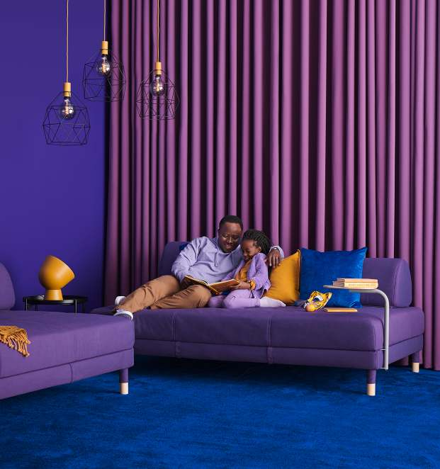 IKEA FLOTTEBO sleeper sofa - perfect for small spaces