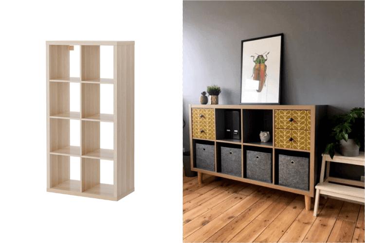 Ikea hacks kallax