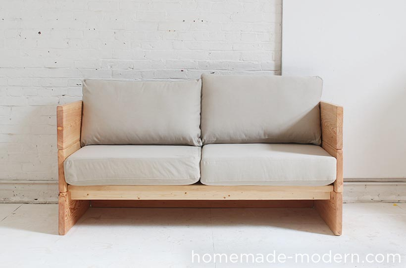 plywood armrests