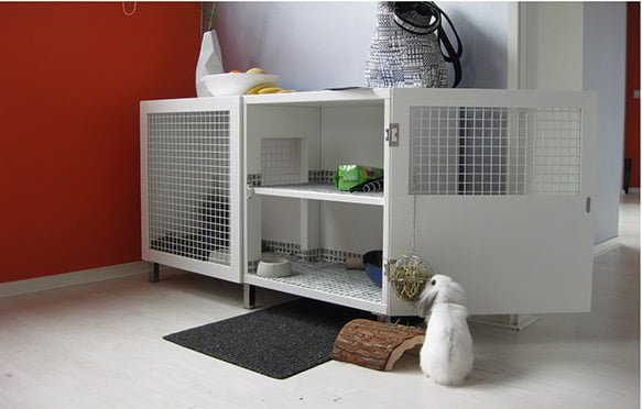 rabbit hutch IKEA hack